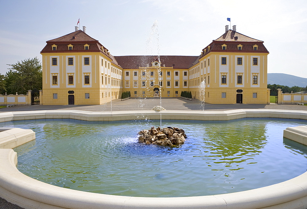 Schloss Hof Palace, Prince Eugene of Savoy's Baroque palace, Marchfeld, Lower Austria, Europe