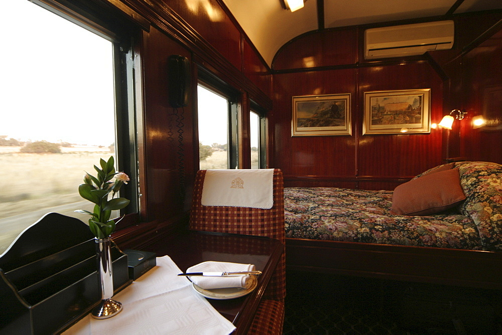 Royal Suite, Rovos Rail, Suedafrika