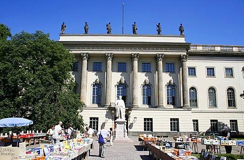 Humboldt University, Unter den Linden, Berlin, Germany