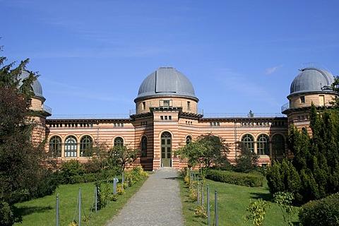 "Main building of the astrophysical observatory in the science park ""Albert Einstein"", Telegraphenberg, Potsdam, Brandenburg, Germany"