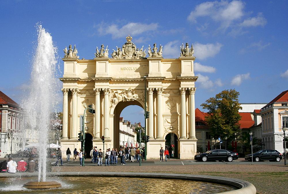 Brandenburg Gate, Potsdam, Brandenburg, Germany