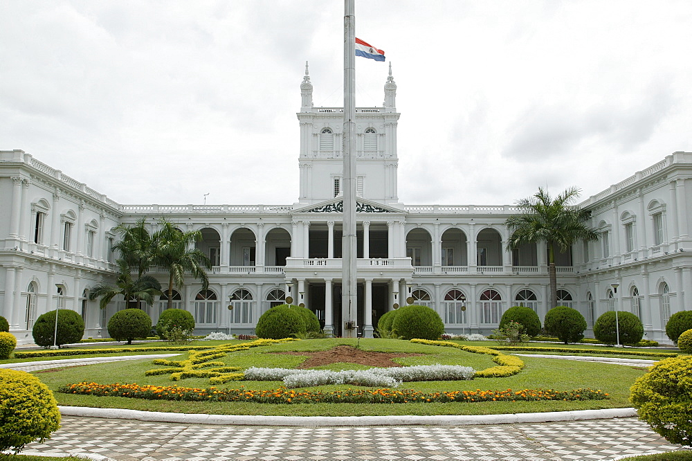 Palace of the president, Acuncion, Paraguay, South America
