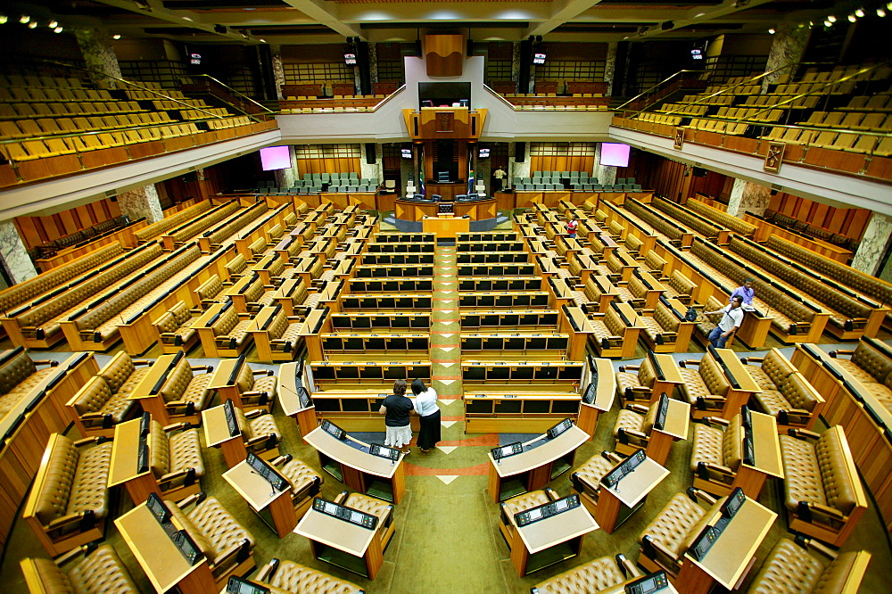 Big Parliament hall, Cape Town, South Africa