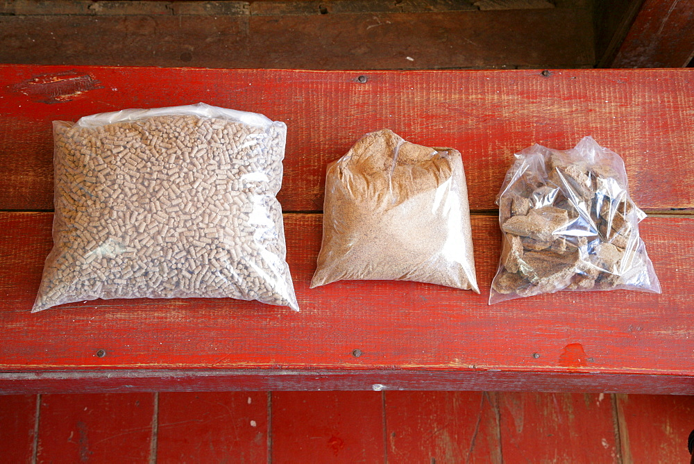 Coconut products, shavings, chips and grease, coconut processing, Georgetown, Guyana, South America