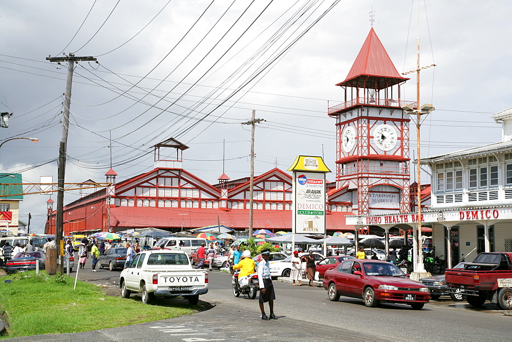 Stabroek indoor market, Georgetown, Guyana, South America