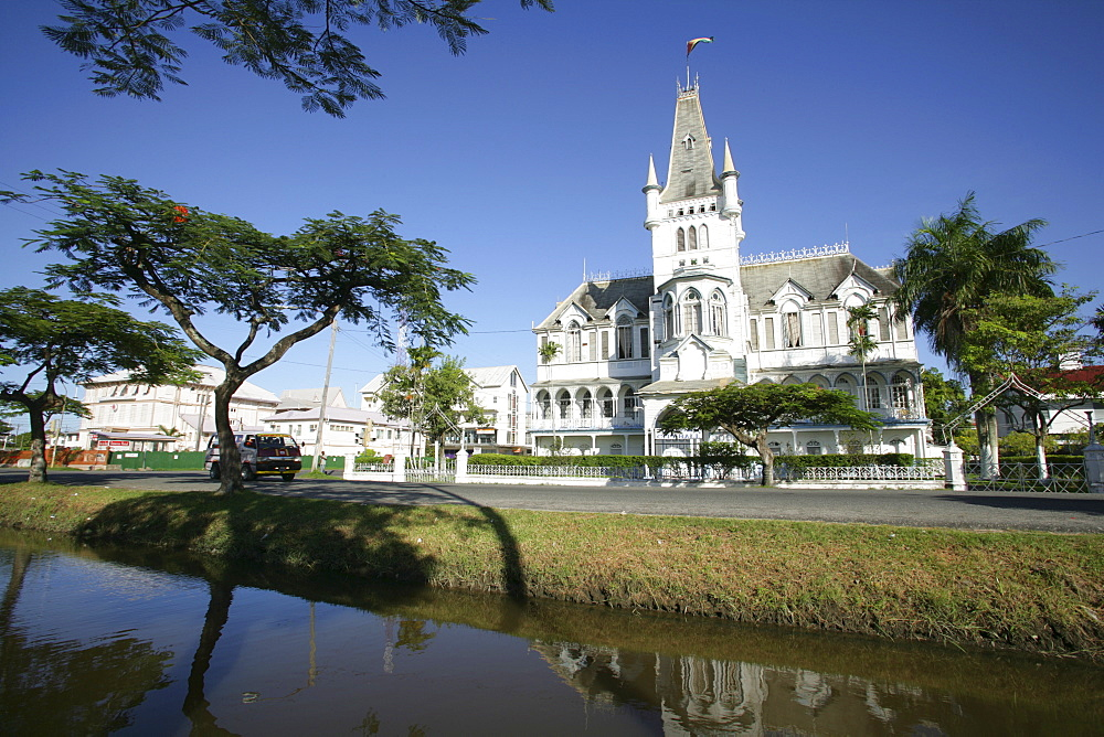 City hall, Georgetown, Guyana, South America