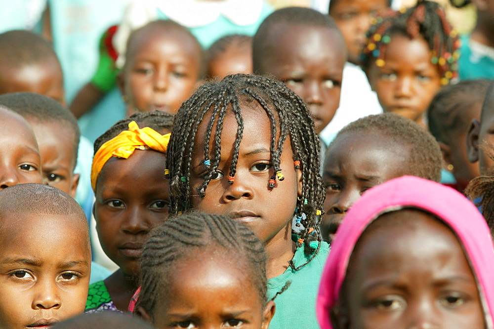 Children at a kindergarten, Cameroon, Africa