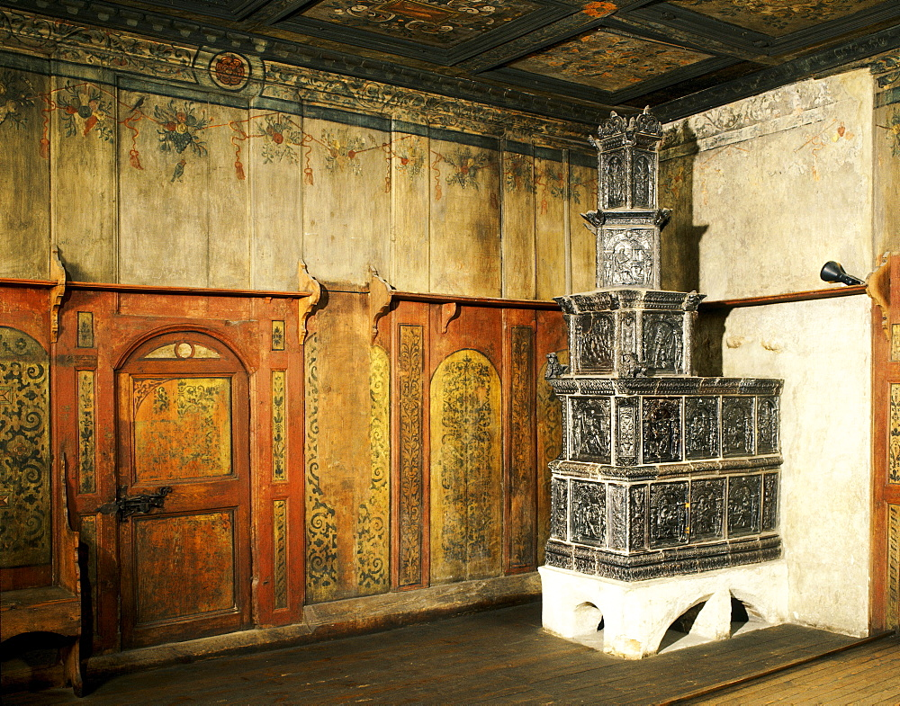 Lutherstube, interior, Martin Luther's house and workplace, Wittenberg, Saxony-Anhalt, Germany