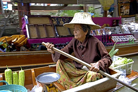 Dealer of swimming market in westthailand, Thailand