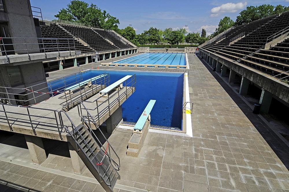 1936 Olympic Swimming Stadium, Berlin, Germany, Europe
