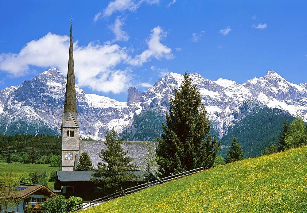 Maria Alm at the Steinernes Meer (Stony Lake), Pinzgau, Salzburger Land, Austria, Europe