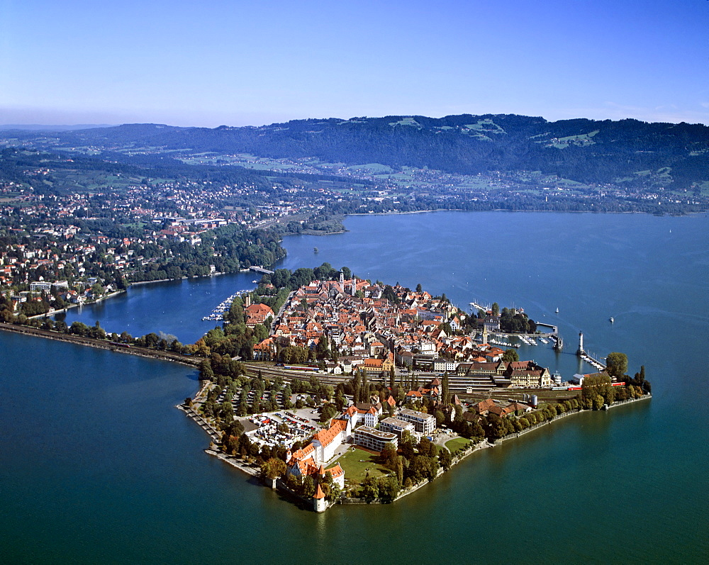 Lindau on Lake Constance, Swabia, Bavaria, Germany