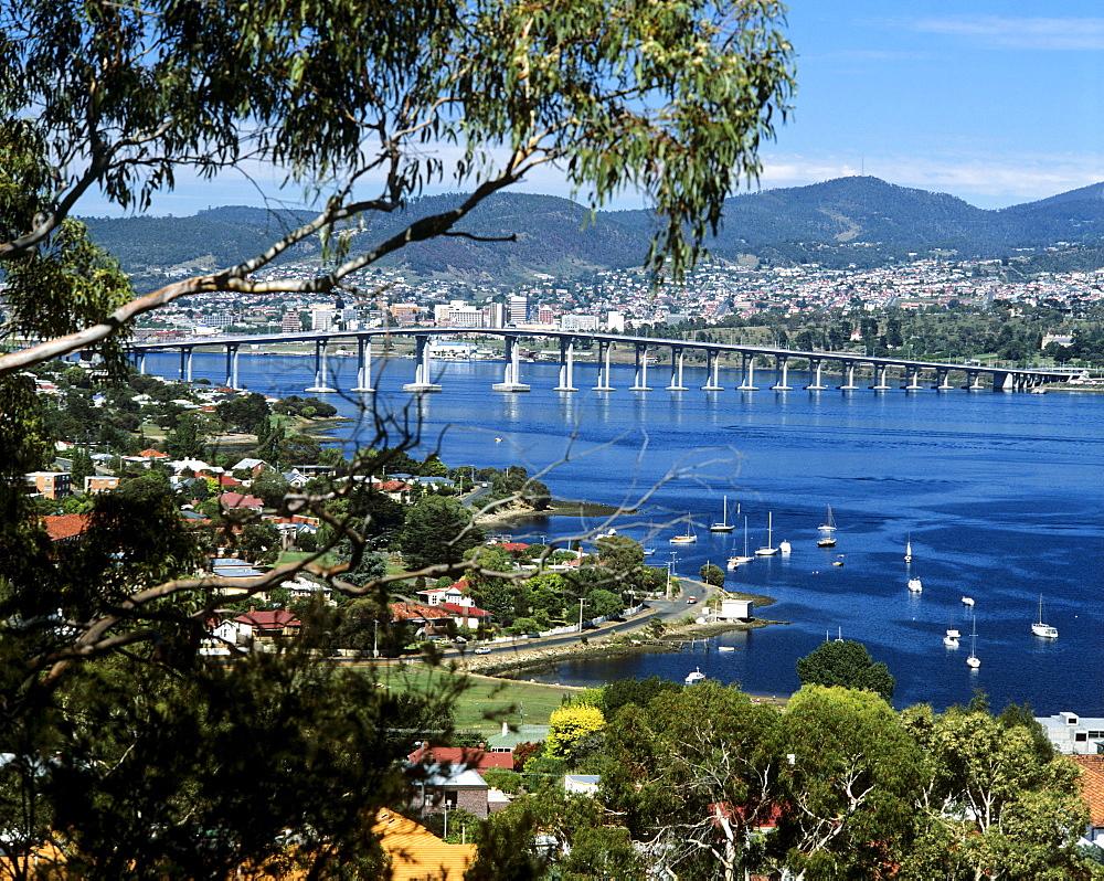 Tasman Bridge, Hobart Bridge, Hobart, Tasmania, Australia