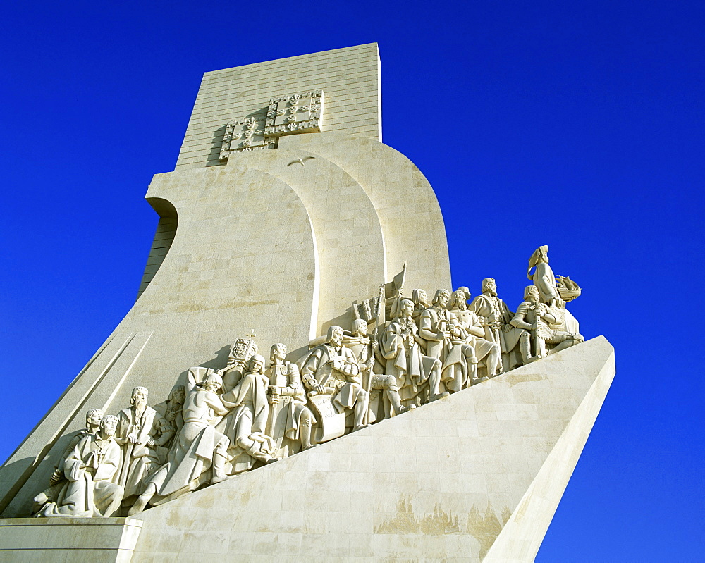 Padrao dos Descobrimentos, seafaring memorial, age of discovery, Belem on the Tagus River, Lisbon, Portugal