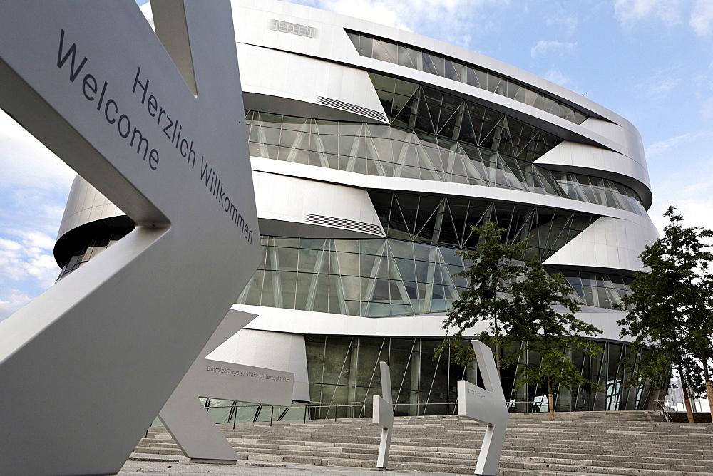 Mercedes-Benz Museum, Stuttgart-Untertuerkheim, Baden-Wuerttemberg, Germany