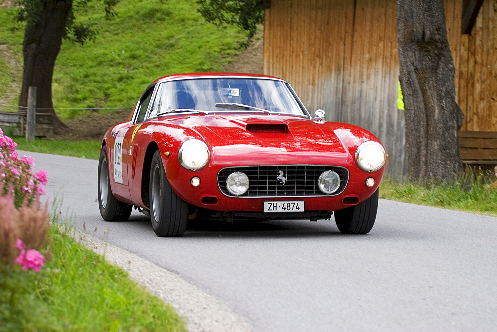 Ferrari 250 GT SWB, vintage car, year of construction 1960, Ennstal-Classic 2007, Austria