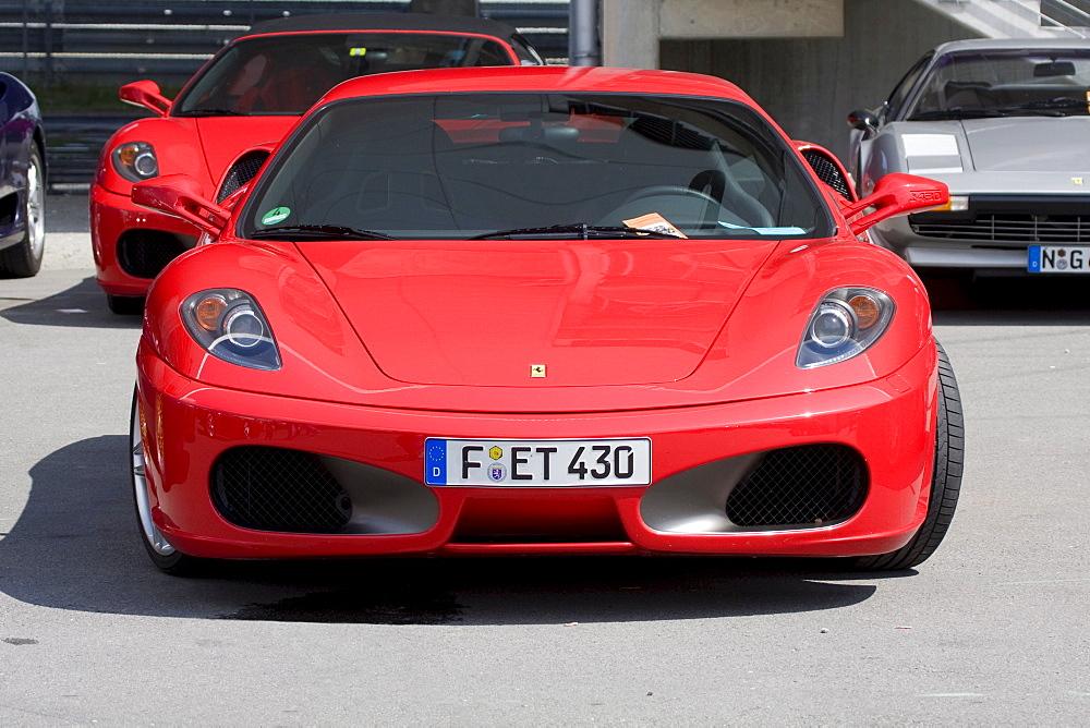 Ferrari F 430, Jim Clark Revival Historic Grand Prix 2008, Hockenheim, Baden-Wuerttemberg, Germany, Europe