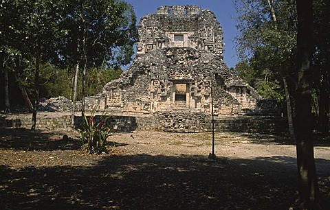 Ruins, Chicanna, Mexico, North America