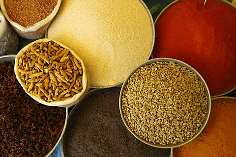 Indian herbes and spices, India