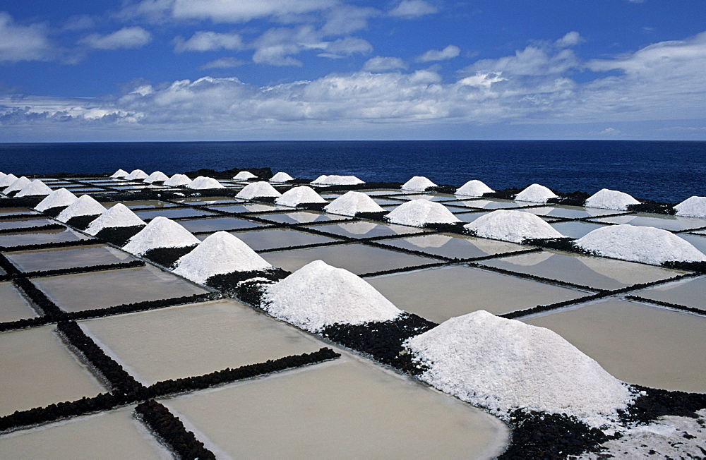 Saltworks in Los Canarios (Fuencaliente), La Palma, Canary Islands, Spain