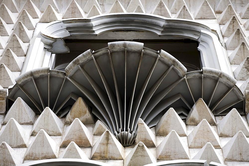 Casa dos Bicos, Alfama, Lisbon, Portugal, Europe
