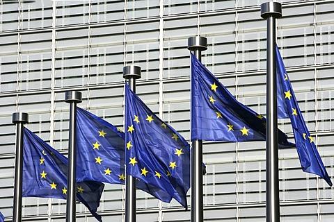 Building of the European commisson, Brussels, Belgium