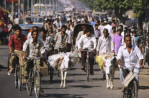 Rushhour, Mumbai, Maharashtra, India