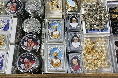 ITA, Italy, Rome : Vatican, Pope souvenirs.  