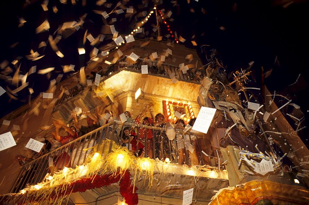 Festa, procession in Zebbug, Malta