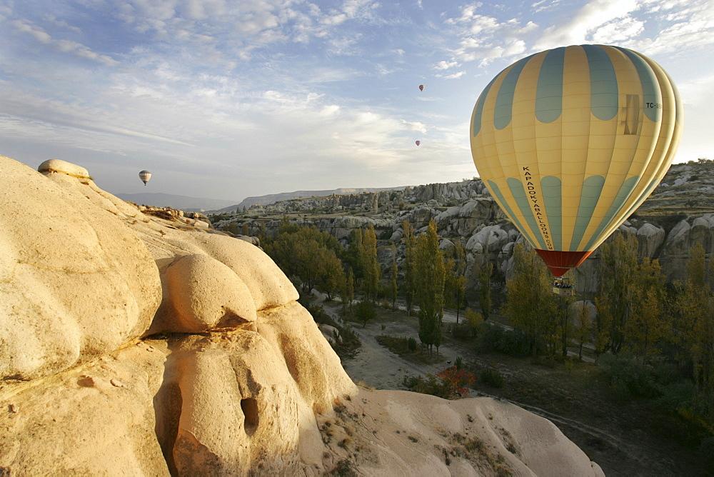 """TUR Turkey Cappadocia Hot Air Ballooning over Cappadocia. Balloons of """"Kapadokya Balloons"""""""