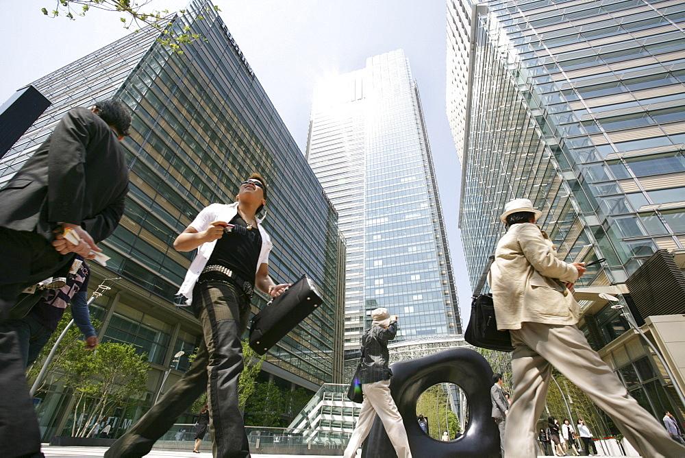 Tokyo Midtown Tower, Roppongi, Tokyo, Japan, Asia