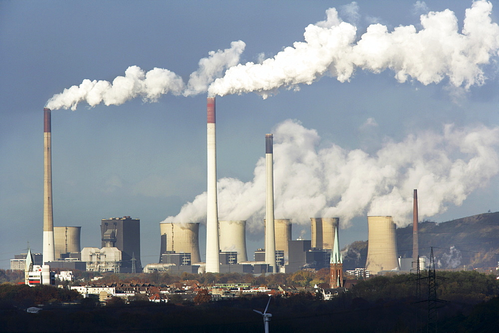 Scholven coal-fired power station, Gelsenkirchen, North Rhine-Westphalia, Germany, Europe - 832-315277