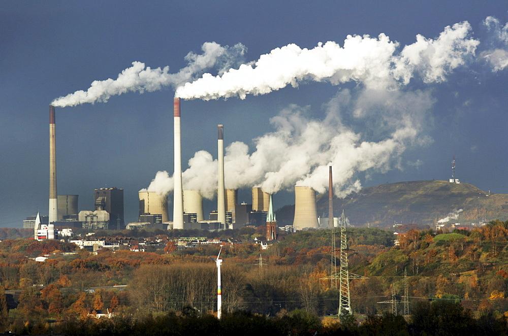 Scholven coal-fired power station, Gelsenkirchen, North Rhine-Westphalia, Germany, Europe