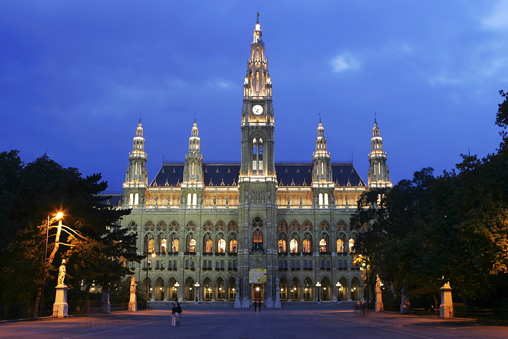City hall, Vienna, Austria, Europe