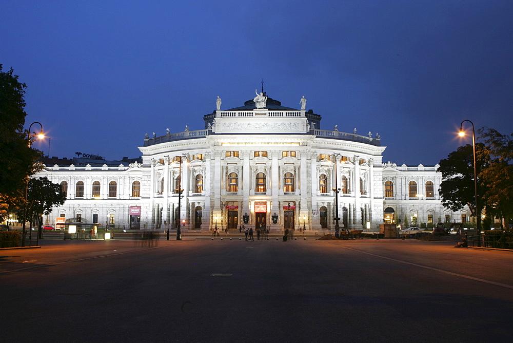 Burgtheater (Court Theater), Vienna, Austria, Europe