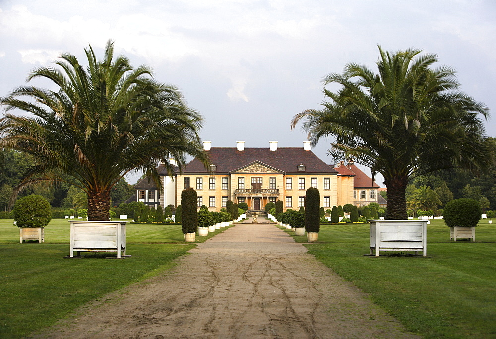 Oranienbaum Castle, Oranienbaum Park in the Dessau-Woerlitz Garden Realm, UNESCO World Heritage Site, Dessau, Saxony-Anhalt, Germany