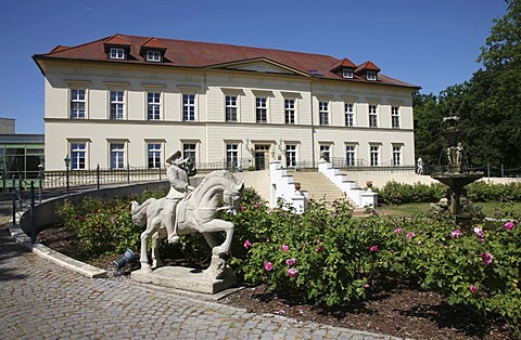 Teschow Castle Hotel, golf and spa hotel, Teschow, near Teterow, Mecklenburg-Western Pomerania, Germany, Europe