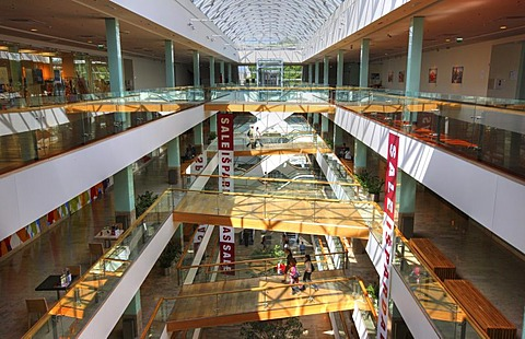 Gedimino9, exclusive shopping mall on Gedimino Prospektas, interior, Vilnius, Lithuania, Baltic States, Northeastern Europe