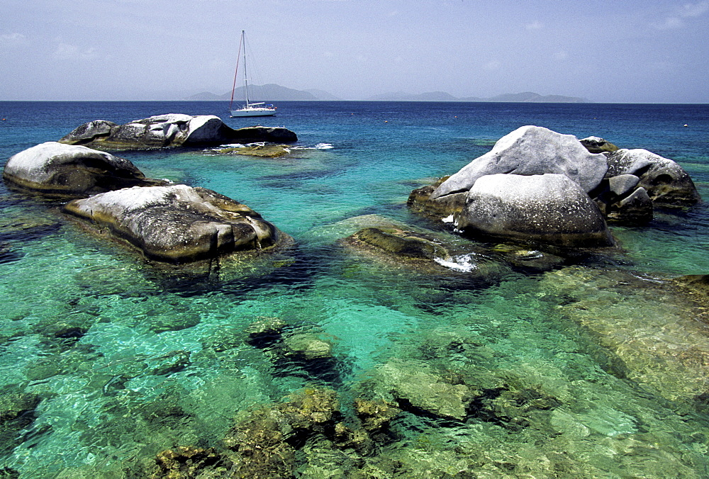 """The Baths, "" Virgin Gorda Island, British Virgin Islands, Lesser Antilles, Caribbean"
