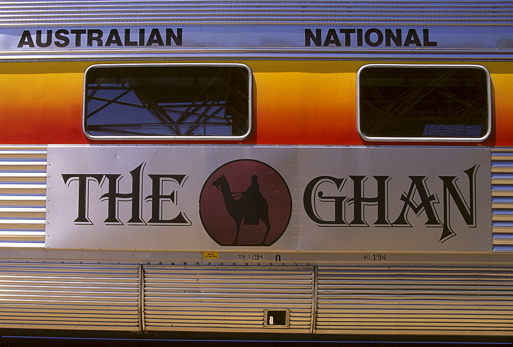 Carriage of the railway line 'The Ghan', Australia