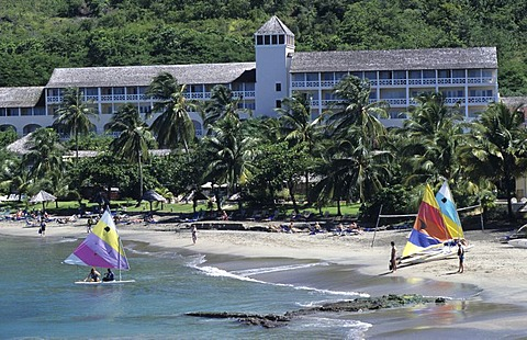 LCA, Saint Lucia: the Le Sport hotel in the northeast of the island, wellness and luxury.