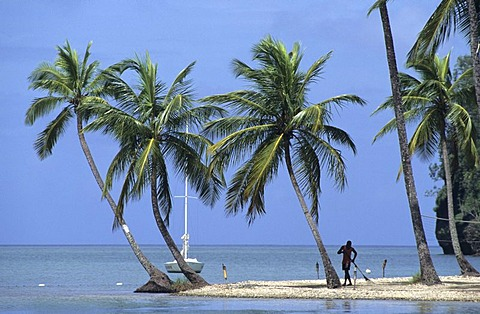 LCA, Saint Lucia: Marigot Bay.