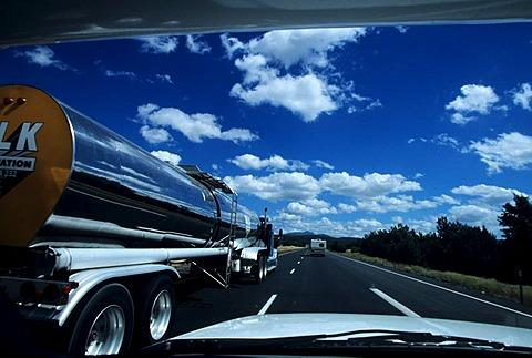 USA, United States of America, Arizona: Historic Route 66, between Kingman and Seligman.