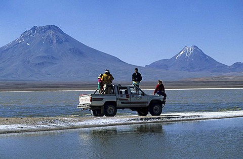 CHL, Chile, Atacama Desert: The desert is passable only with all-wheel cars.