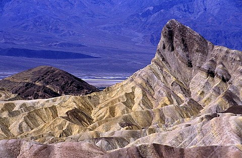 USA, United States of America, California: Death Valley National Park, Zabriski Point.