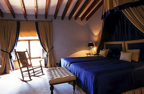 "ESP, Spain, Balearic Islands, Mallorca : the ""Son Net"" hotel in Puigpuyent."