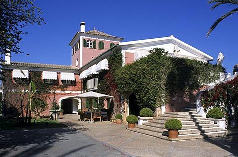 "ESP, Spain, Balearic Islands, Mallorca : residencia ""Los Naranjos"" near Palma."