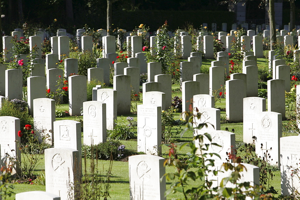 English military cemetery, Cologne, North Rhine-Westphalia, Germany