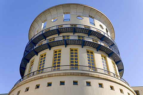 Tower of the National University of Music, Stuttgart, Baden-Wuerttemberg, Germany, Europe