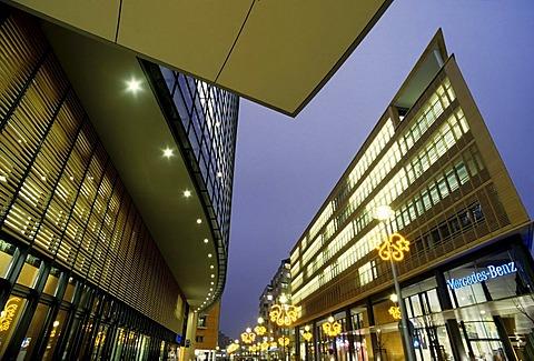 Sales center building of mercedes-benz , Potsdamer Platz, Berlin, Germany
